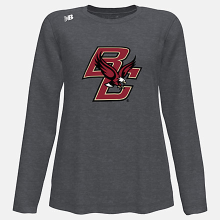New Balance NB Long Sleeve Tech Tee(Boston College), WT501BCBDH image number null
