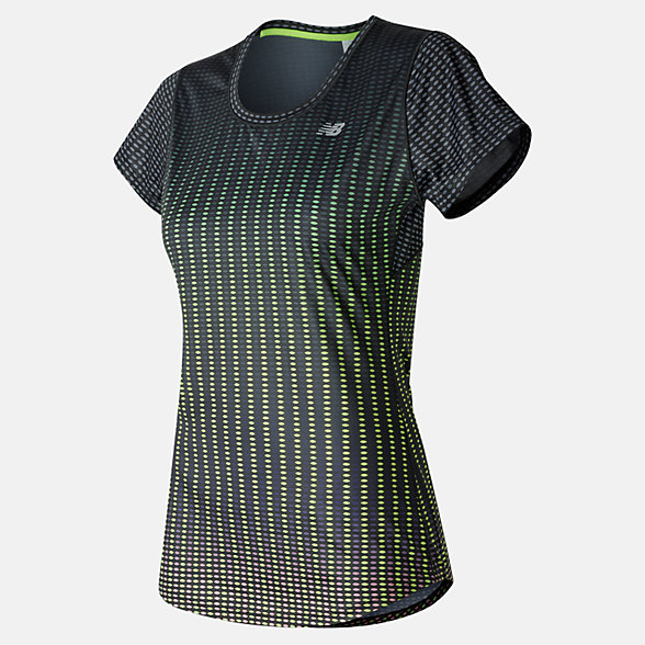 NB Accelerate Short Sleeve Graphic, WT53162PDO