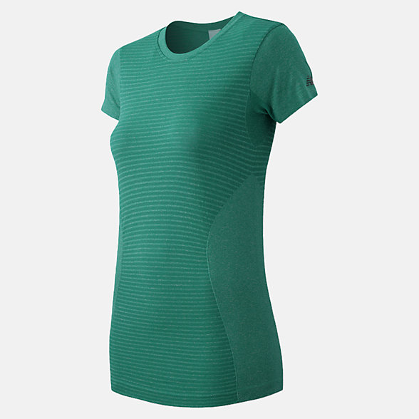 New Balance M4M Seamless Short Sleeve Tee, WT61131GPH