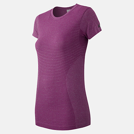 New Balance M4M Seamless Short Sleeve Tee, WT61131URH image number null
