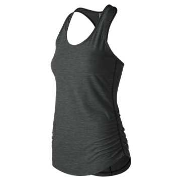 New Balance Transform Perfect Tank, Heather Charcoal
