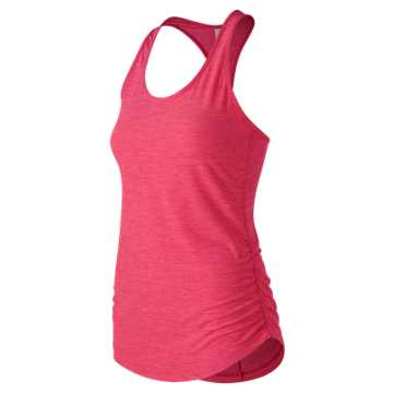 New Balance Transform Perfect Tank, Pink Zing Heather