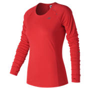 New Balance NB Ice Long Sleeve, Energy Red