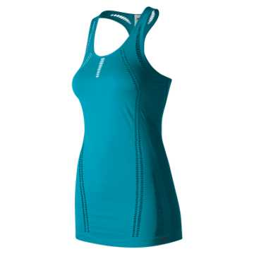 New Balance M4M Seamless Breathe Tank, Deep Ozone Blue