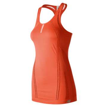 New Balance M4M Seamless Breathe Tank, Sunrise