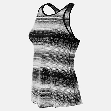 New Balance Layer Tank, WT71140BKW image number null