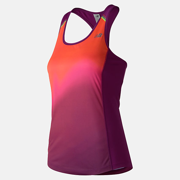 New Balance NB Ice Printed Tank, WT71223IMB