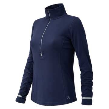 New Balance J.Crew In Transit Half Zip, Navy