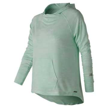 New Balance Hatha Hoodie, Water Vapor Heather