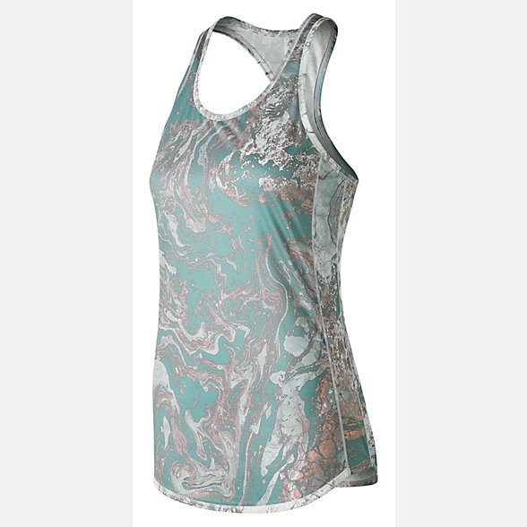 New Balance Accelerate Printed Tank, WT73131HPI