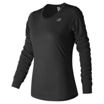 New Balance Accelerate Longsleeve, Black