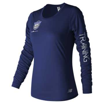 New Balance United Airlines NYC Half Training Accelerate Long Sleeve, Tempest