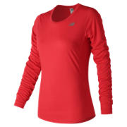 NB Accelerate Long Sleeve, Energy Red