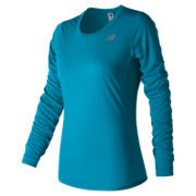 NB Accelerate Long Sleeve, Maldives Blue