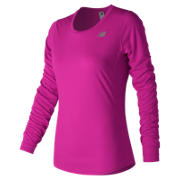 NB Accelerate Long Sleeve, Poisonberry
