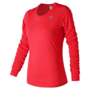 NB Accelerate Long Sleeve, Vivid Coral