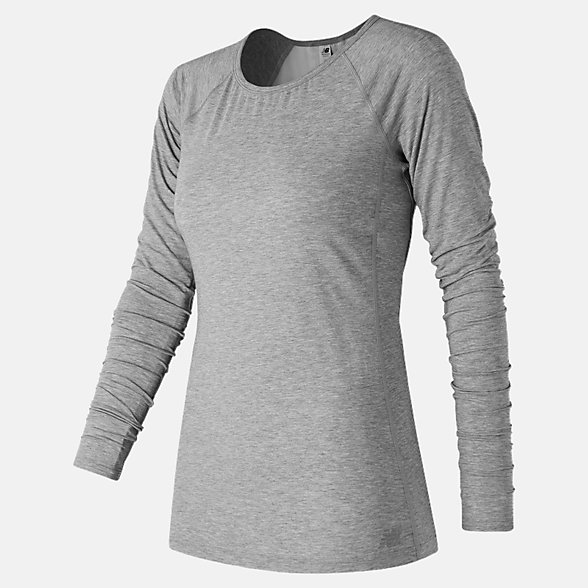 New Balance Intensity Long Sleeve, WT73139AG