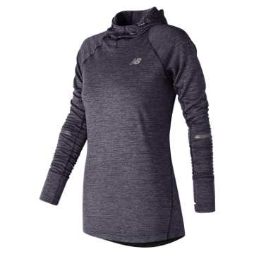 New Balance NB Heat Hoodie, Elderberry Heather