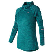 New Balance NB Heat Hoodie, Pisces Heather