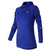 NB NB Heat Hoodie, Vivid Cobalt Blue Heather