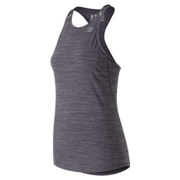New Balance Seasonless Tank, Elderberry Heather