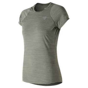New Balance Seasonless Short Sleeve, Military Foliage Green