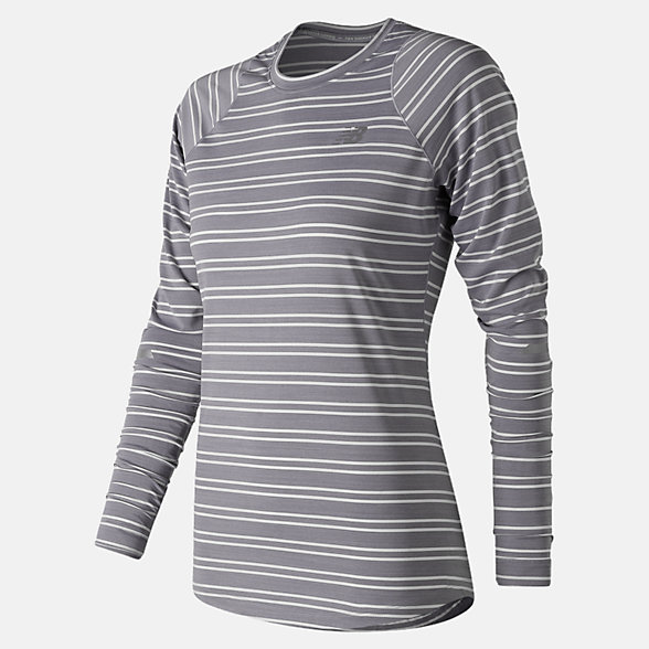 New Balance Seasonless Long Sleeve, WT73236ASK