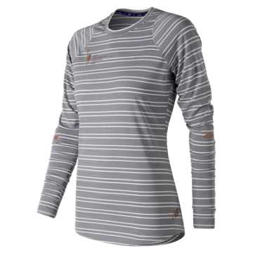 New Balance NYC Marathon Seasonless Long Sleeve, Arctic Sky