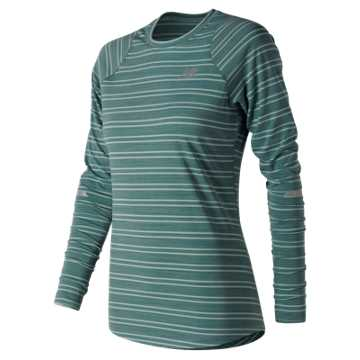New Balance Seasonless Long Sleeve, Outer Banks Heather