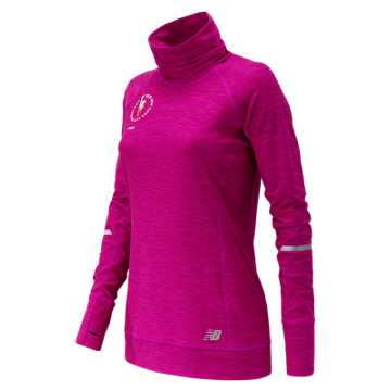 New Balance NYC Marathon In Transit Tunic Top, Poisonberry Heather