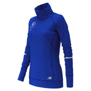 New Balance NYC Marathon In Transit Tunic Top, Tempest Heather