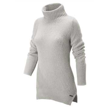 New Balance Cozy Pullover Sweater, Sea Salt