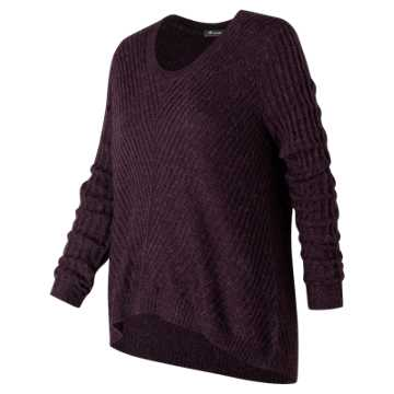 New Balance En Route Sweater, Black Rose
