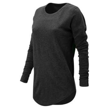 New Balance 247 Luxe Long Sleeve, Black
