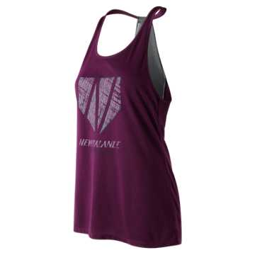 New Balance Game Changer Fastpitch Tank, Dark Mulberry