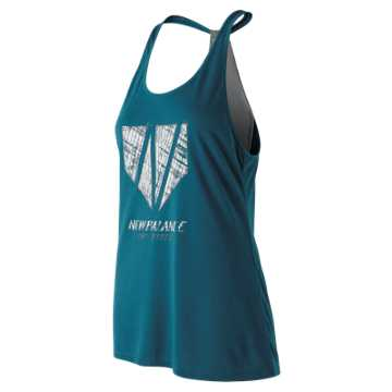 New Balance Game Changer Fastpitch Tank, Moroccan Blue