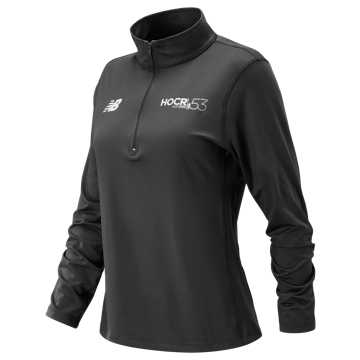New Balance HOCR Quarter Zip, Charcoal