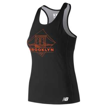 New Balance 5th Ave Brooklyn Singlet, Black