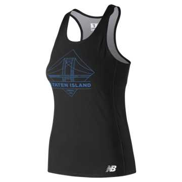 New Balance 5th Ave Staten Island Singlet, Black