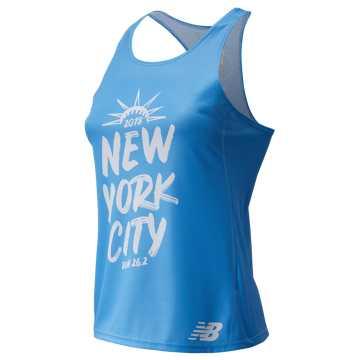 New Balance NYC Marathon Singlet, Blue