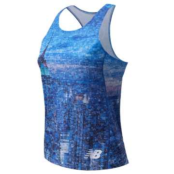 New Balance NYC Marathon Singlet, Outer Banks