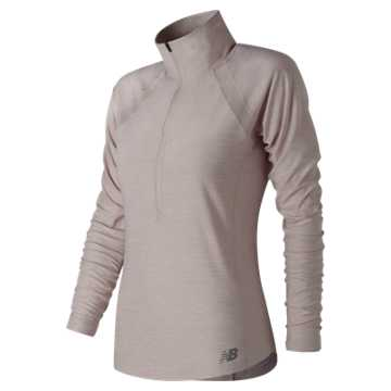 New Balance Anticipate Half Zip, Conch Shell Heather
