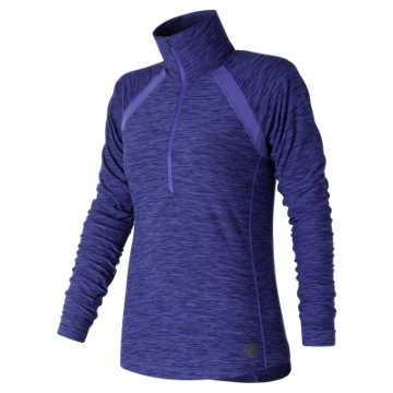 New Balance Anticipate Half Zip, Blue Iris