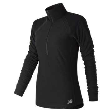 New Balance NYC Marathon Anticipate Finisher Half Zip, Black