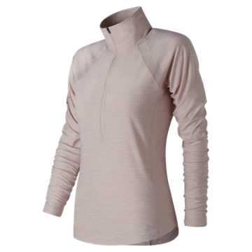 New Balance NYC Marathon Anticipate Half Zip, Conch Shell