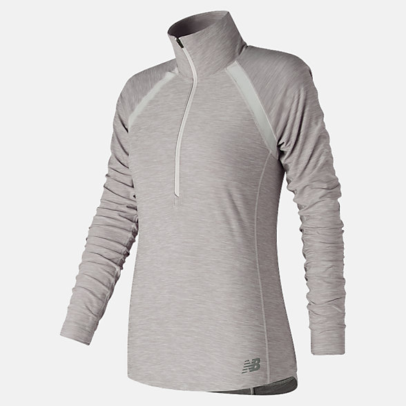 New Balance Anticipate Half Zip, WT81114SAH
