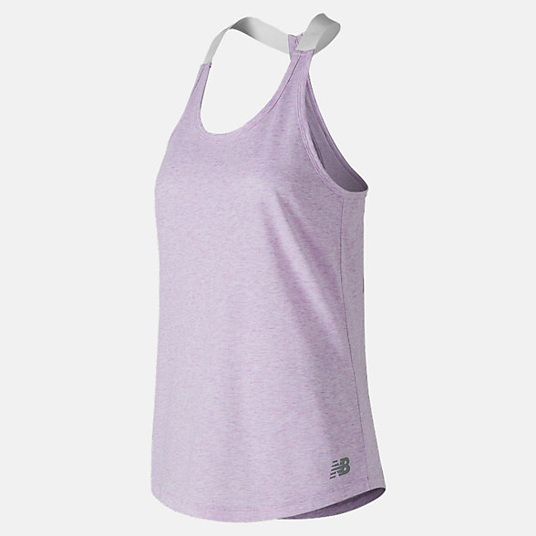 New Balance Heather Tech Tank, WT81144VTH