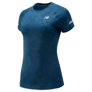 New Balance Printed NB Ice 2.0 Short Sleeve, North Sea
