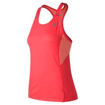 New Balance NB Ice 2.0 Tank, Vivid Coral