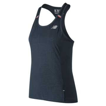 New Balance Printed NB Ice 2.0 Tank, Galaxy
